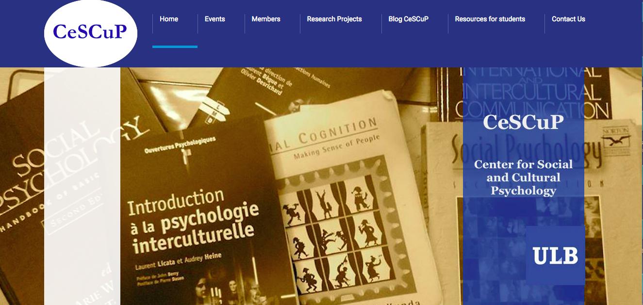 CeSCuP New Website