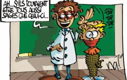 Humour et enseignement: une stratégie de communication